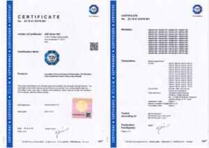 srtification